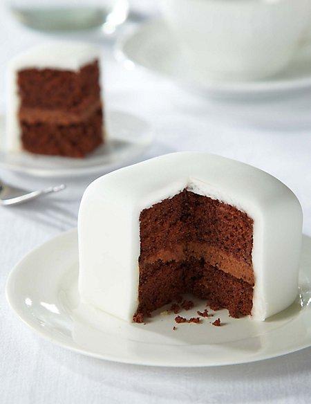 Gluten Free Chocolate Wedding Taster Cake (Serves 4)