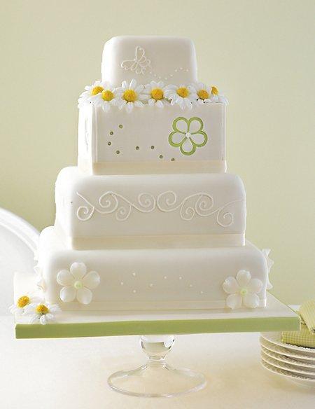 4 Tier Meadow Assorted Cake