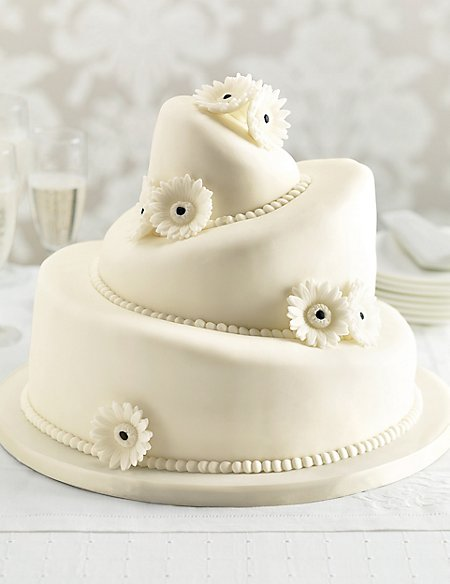 Topsy Turvy Assorted Wedding Cake