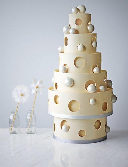 Bauble Chocolate Wedding Cake