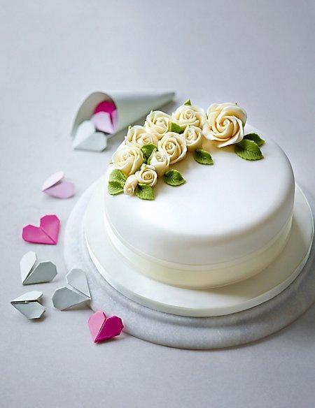 Spray of Roses - Chocolate