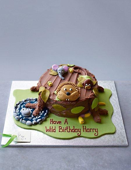 Jungle Chocolate Cake