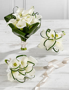 White Calla Lily Wedding Flowers - Collection 1