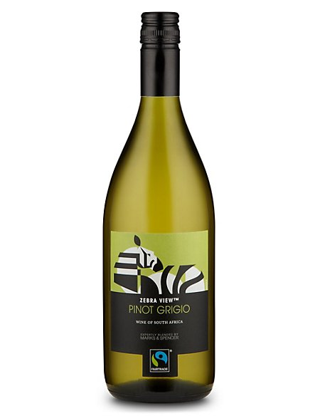 Fairtrade® Zebra View Pinot Grigio - Case of 6