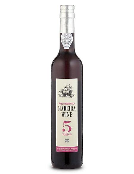5 Year Old Finest Medium Rich Madeira - Case of 6