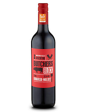 Fairtrade® Butchers Block Bonarda- Malbec - Case of 6