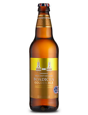 Greenwich Single Variety British Hop Boadicea Golden Ale - Case of 20