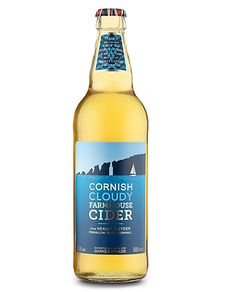 Cornish Cloudy Farmhouse Cider - Case of 20