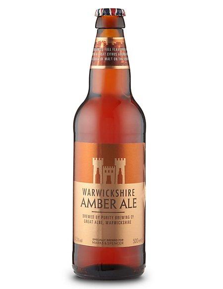 Warwickshire Amber Ale - Case of 20