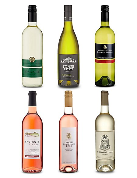 English Wines Mixed Case - Case of 6