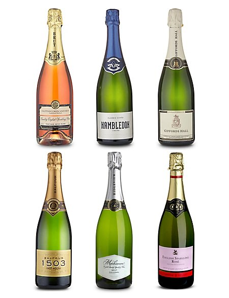 English Sparkling Wine - Case of 6