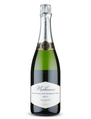 Marksman English Sparkling Brut Blanc de Blancs 2014, Sussex, England