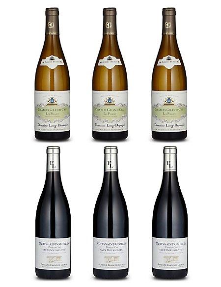 Burgundian Fine Wine - Case of 6