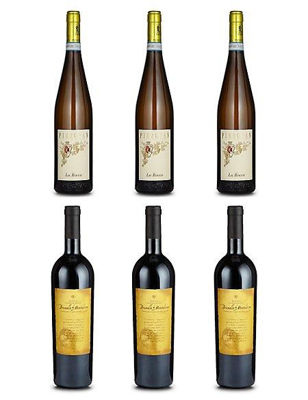 Italian Fine Wine - Case of 6