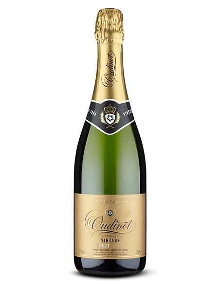 Oudinot Vintage Champagne - Case of 6