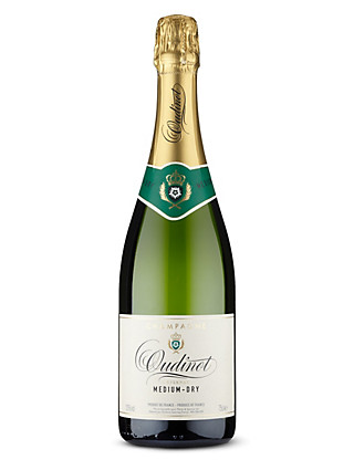 Oudinot Medium Dry Champagne - Case of 6 Wine