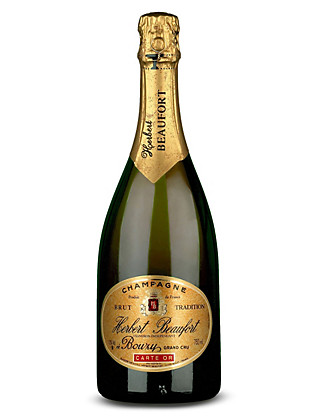 Herbert Beaufort Grand Cru Champagne - Case of 6 Wine