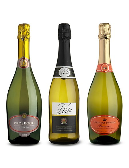 Mixed Case of Prosecco - Case of 6