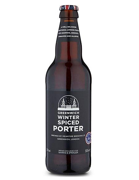Greenwich Winter Spiced Porter - Case of 20