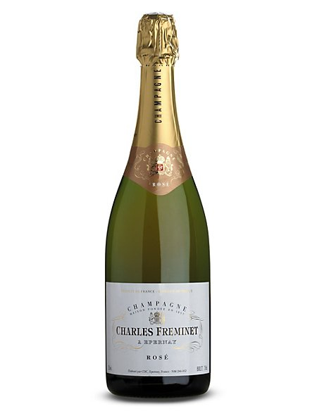 Charles Freminet Rosé NV Champagne - Case of 6