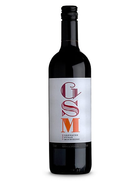 GSM Grenache Syrah Mourvedre - Case of 6