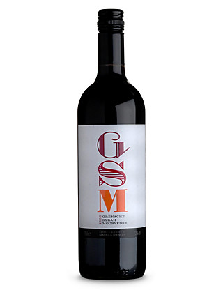 GSM Grenache Syrah Mourvedre - Case of 6 Wine
