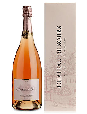 Réserve de Sours Sparkling Rosé NV - Single Bottle Magnum