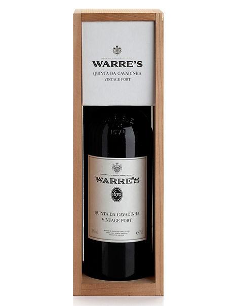Warre's Quinta Da Cavadinha Vintage Port - Single Bottle