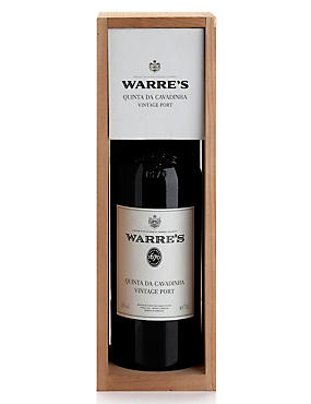 Warre's Quinta Da Cavadinha Vintage Port - Single Bottle
