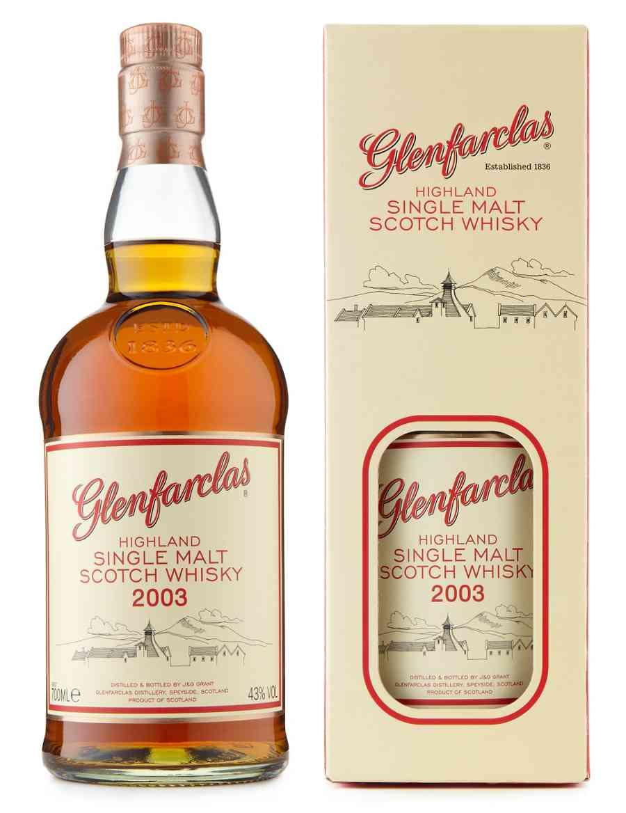 c9874716a85 Glenfarclas Single Malt Scotch Whisky 2003 - Single Bottle