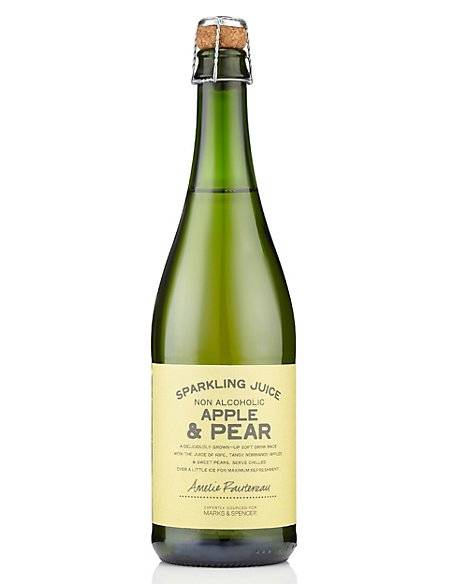 Sparkling Normandy Apple & Pear Juice - Case of 6
