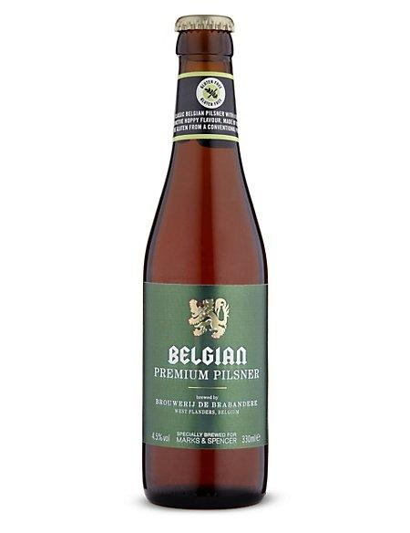 Gluten Free Belgian Premium Pilsner - Case of 20