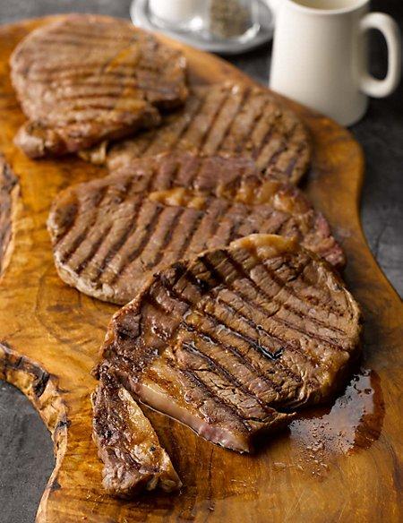 4 Aberdeen Angus Thin Cut Ribeye Steaks