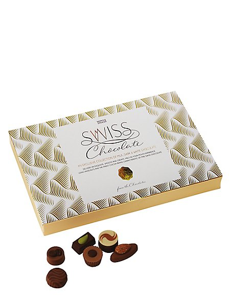 Swiss Chocolate Selection - 290g