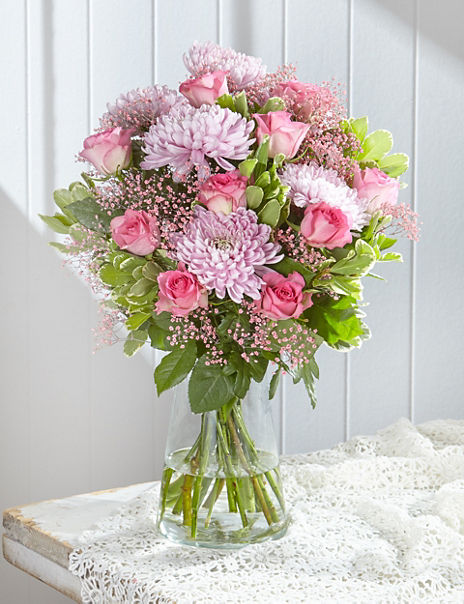 In the Pink - Limited Edition Breast Cancer Charity Bouquet