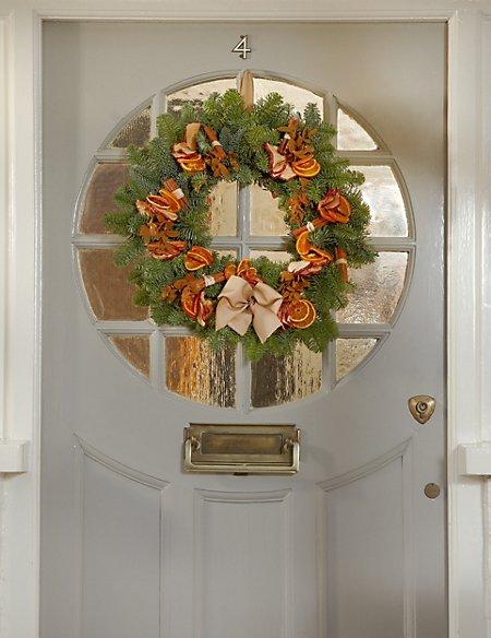 Winter Spice Wreath