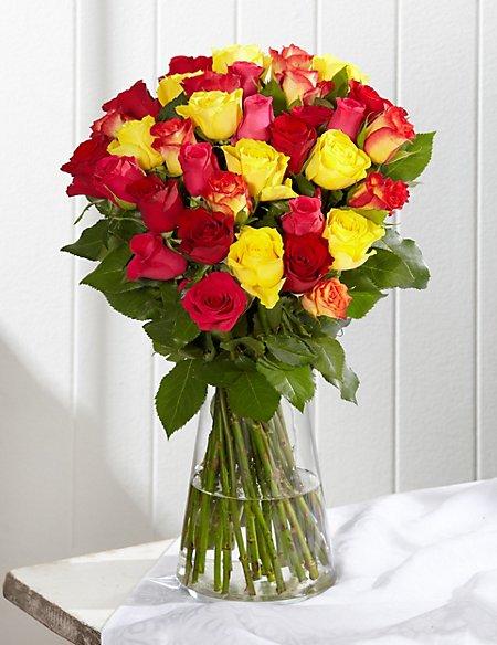 Classic Roses - Yellow & White
