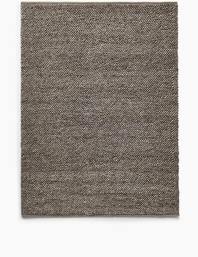 Handwoven Bobble Wool Rug M S