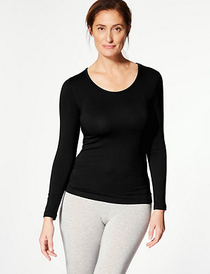 805b9edf45e9 Heatgen Plus™ Thermal Long Sleeve Top | M&S Collection | M&S
