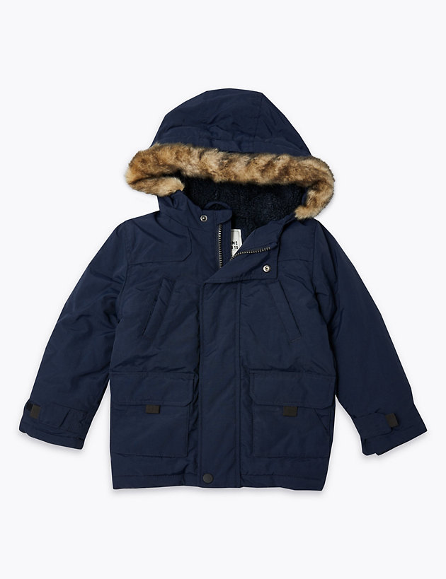 Hooded Twill Parka (3 Months - 7 Years)
