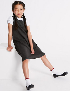 012542635 Junior Girls' Pinafore | M&S