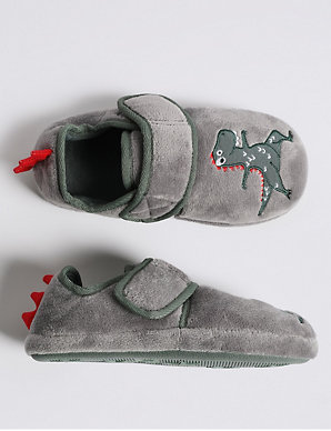 9a0777a36fe1 Kids  Dinosaurs Slippers (5 Small - 12 Small)