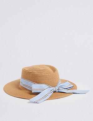 44435dbe Kids' Floppy Hat with Sun Smart UPF50+ (3-14 Years)   M&S