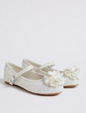 dbf688f8ed55 Kids' Glitter Bridesmaid Shoes (5 Small - 6 Large) | M&S
