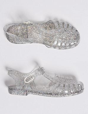 e7c6c764c35c Kids  Glitter Jelly Sandals (13 Small - 6 Large)