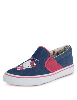 ffd686f26 Kids' Hello Kitty Slip-On Casual Trainers | M&S