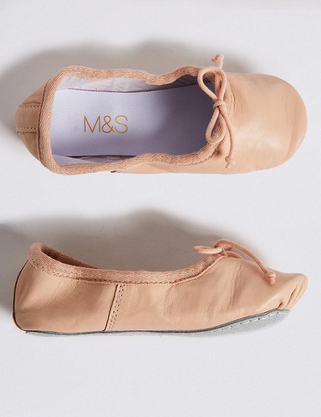 Toddler//Little Kid//Big Kid Dance Class Half Ballet Flat
