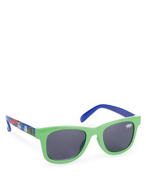 Marvel Spiderman Mirror Lens Childrens Character Sunglasses 100/% UV protection for Holiday