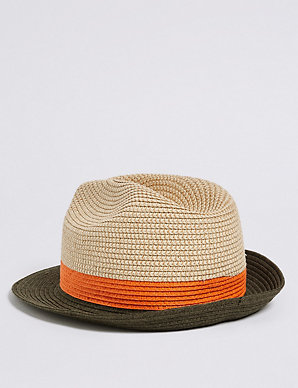 962d7252678ea Kids  Trilby Summer Hat (3 - 14 Years)