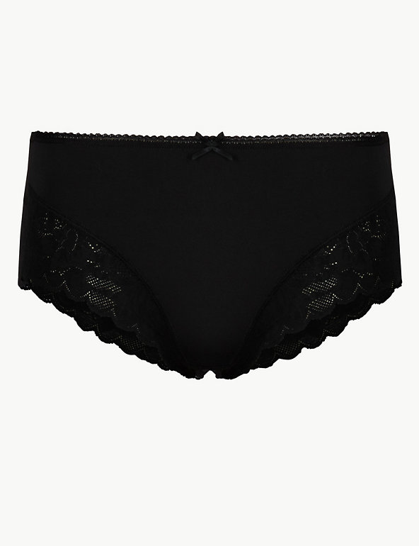 20 18 16 14 Marks /& Spencer Deep Purple The Miami Lace Knickers  UK12